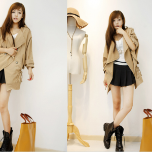 Fashion loose coat