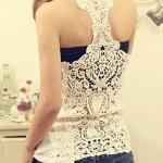 Bottoming Vest Back Lace C..